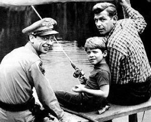 Andy, Opie, and Barney Fife -- the 1950s is the US