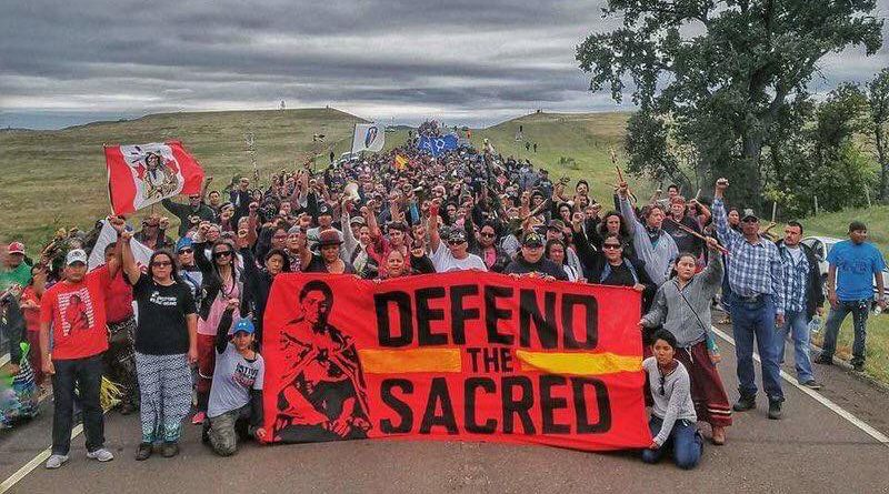 """""""Water is Life"""": Nonviolence and Standing Rock by Aric Clark"""